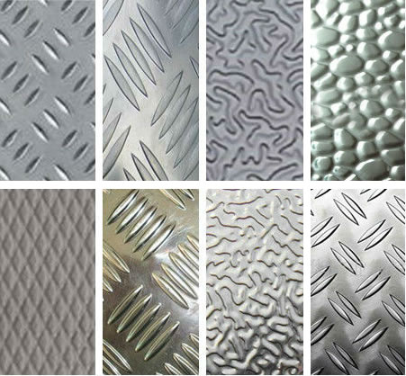 Embossed Plate And Aluminum Embossed Tread Plate 800mm To