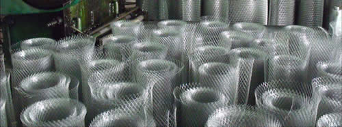 Expanded Metal Steel Grating For Safety Walking Stairs And