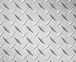 Steel Checkered Plate Materials Including Carbon Steel
