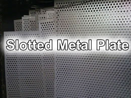 Slotted Metal Slot Hole Perforated Sheet For Building And