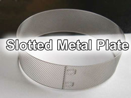 slot in plate